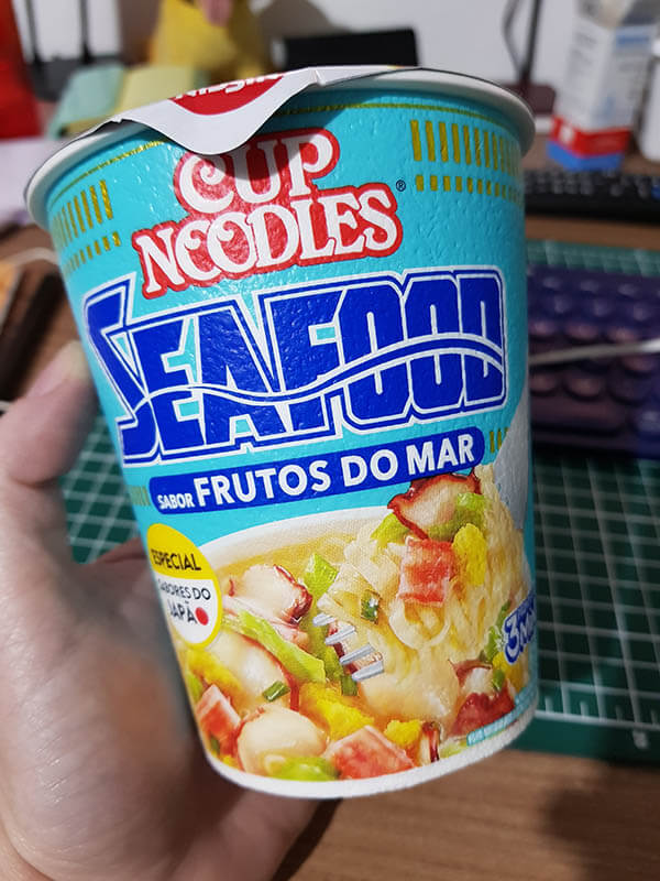 Cup Noodles Frutos do Mar