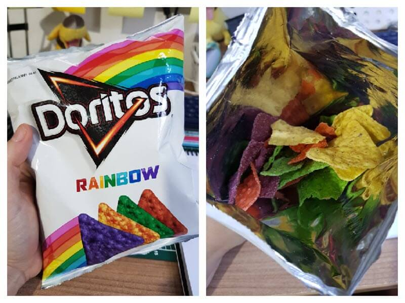 Doritos Rainbow