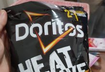 Doritos HeatWave Barbecue